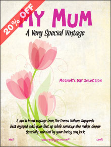 Tulips of Your Mum Label
