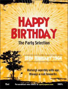 Free Birthday Label 1